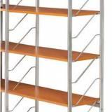 Přídavné police k interiérovému regálu, 800x350 mm, buk